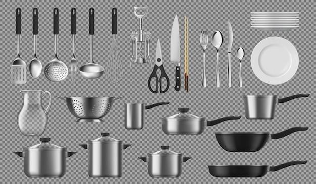 Utensílios de cozinha e de mesa, louça