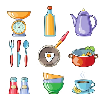 Utensílios de cozinha e utensílios de cozinha