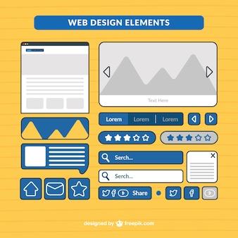 Útil elementos web pack