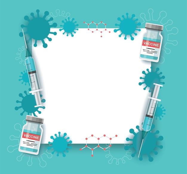 Vaccine fame. conceito de vacinação. cuidados de saúde e proteção