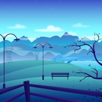 Vale azul