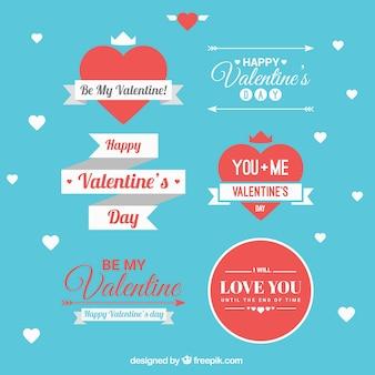 Valentine pacote fitas dia