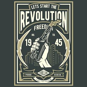 Vamos começar a revolução