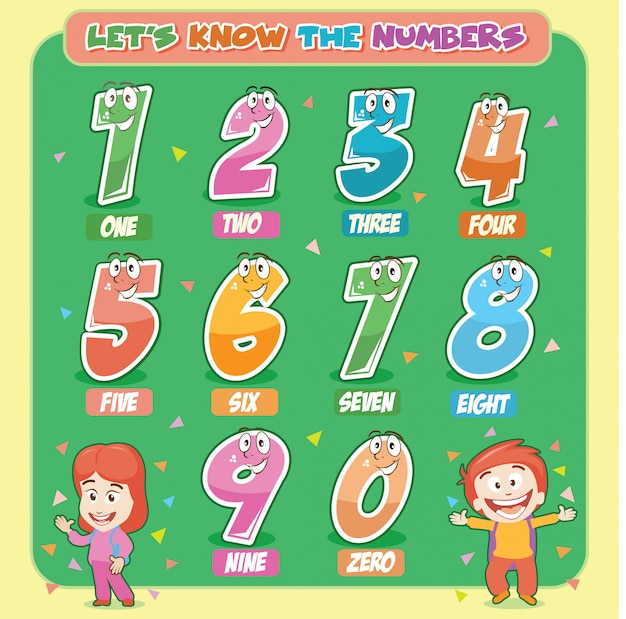 Vamos conhecer os números