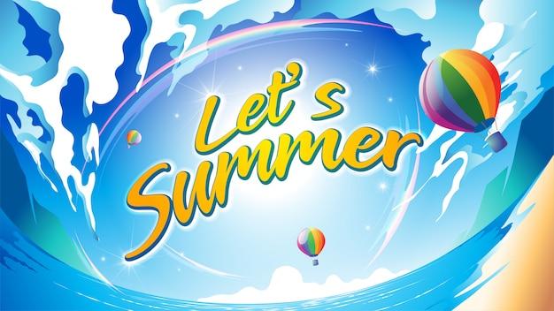 Vamos no verão
