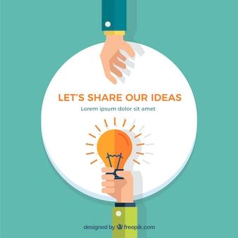 Vamos partilhar as nossas ideias