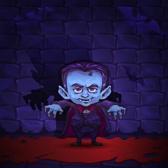 Vampiro dos desenhos animados