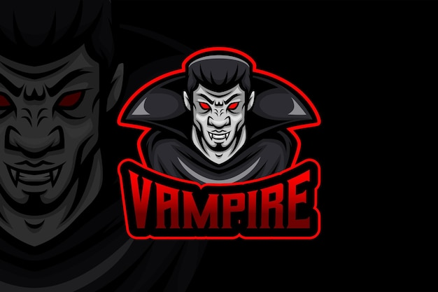 Vampiro- modelo de logotipo esport