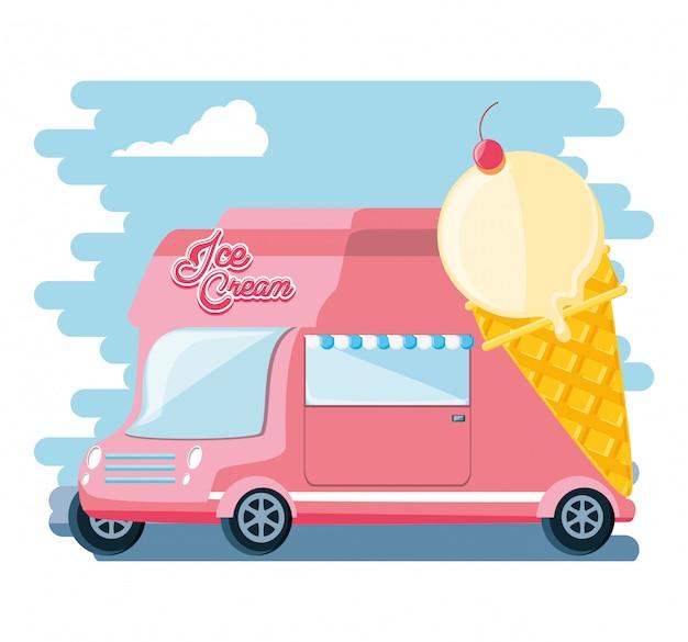 Van de sorveteria