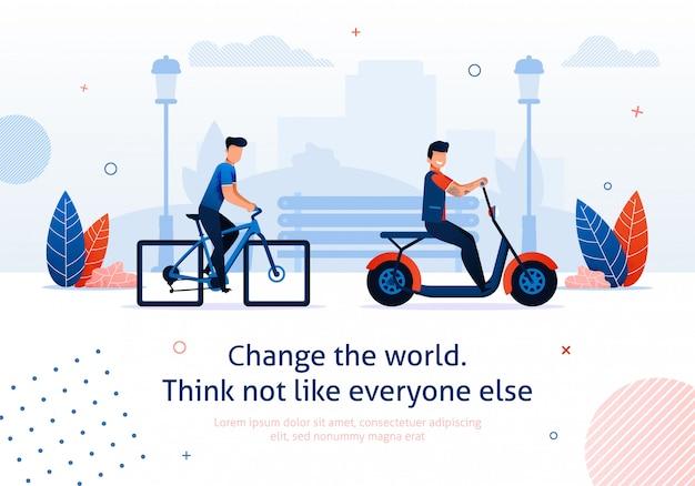 Vantagens do transporte ecológico
