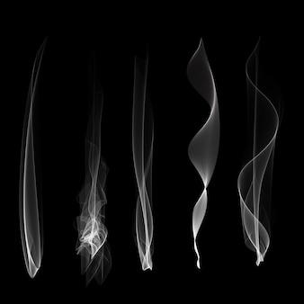 Vapor de fumaça é gerada névoa liquidolated