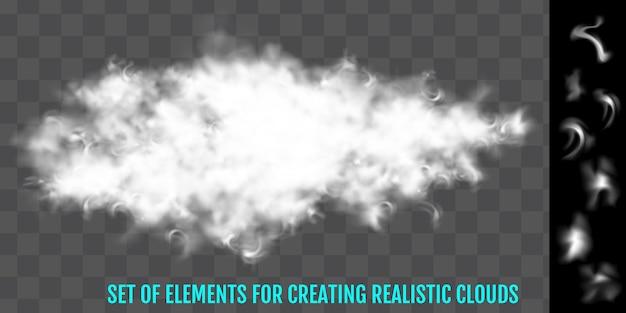 Vapor, nevoeiro, fumaça, nuvens