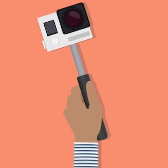 Vara de selfie