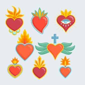 Variedade de coração sagrado