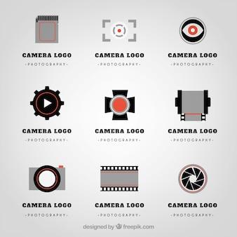 Variedade de logotipos de câmara