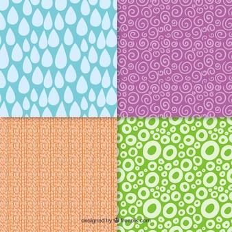 Variedade de padrões