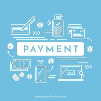 Variedade moderna de métodos de pagamento