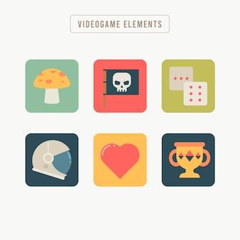 Vários itens para jogos de vídeo