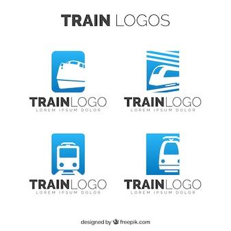 Vários, trem, logotipos