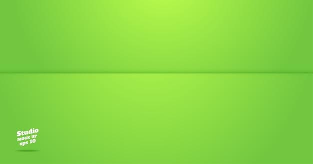 Vazio, vívido, verde, limão, sala, sala, fundo