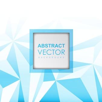 Vector azul abstrato
