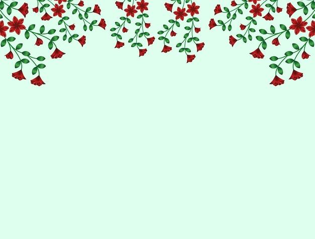 Vector background flor floral design ilustração