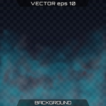 Vector brilhante nebulosidade, névoa ou fundo de poluição atmosférica.
