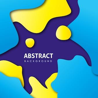 Vector colorido abstrato