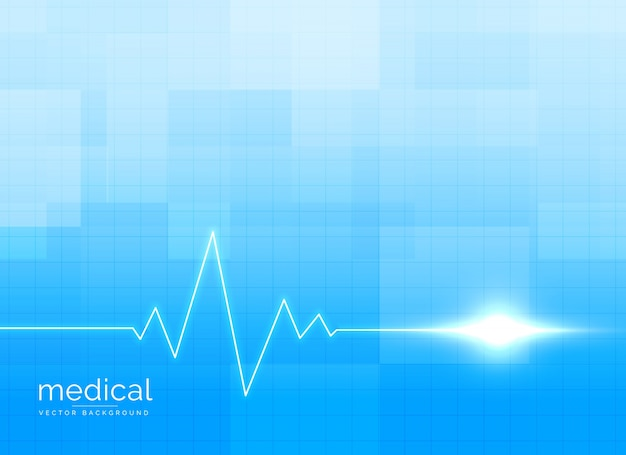 Vector de conceito de fundo médico e de saúde