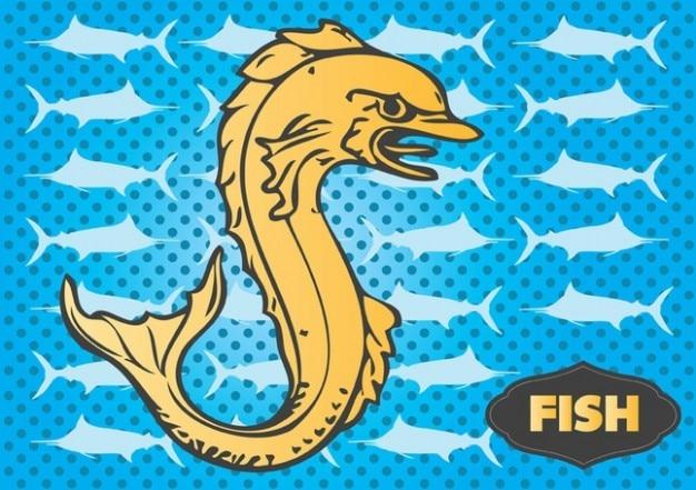 Vector de peixe