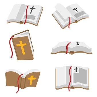 Vector do livro da bíblia