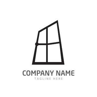 Vector do logotipo da janela