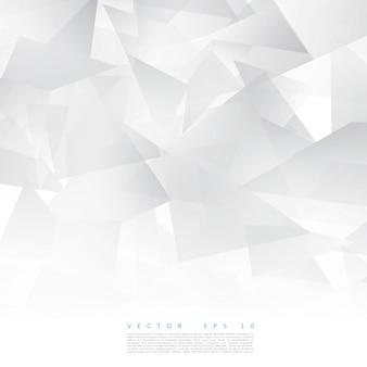 Vector forma geométrica abstrata do triângulo cinza