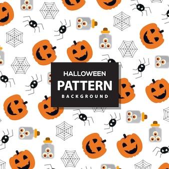 Vector helloween padrão de fundo