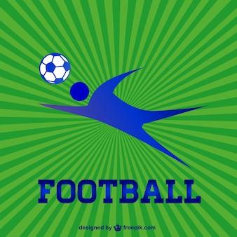 Vector logo futebol