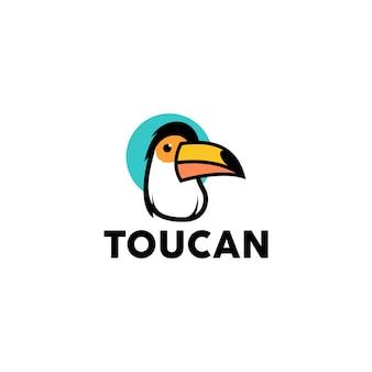 Vector logo toucan