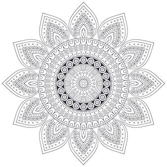 Vector mandala indiana