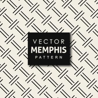 Vector memphis padrão de fundo