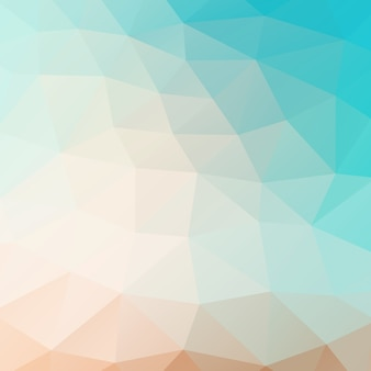 Vector mosaico fundo triângulo