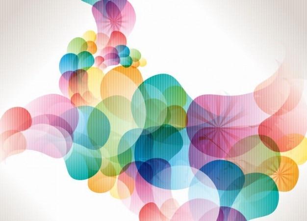 Vector o fundo abstrato colorido