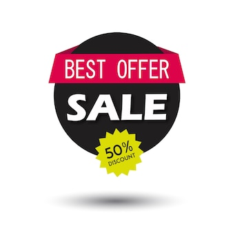 Vector sale banner graphic illustration