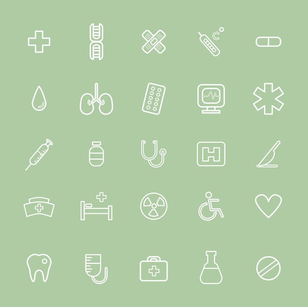 Vector ui illustration conceito do hospital de saúde de saúde