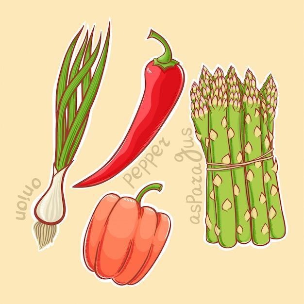Vegetais de outono
