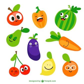 Vegetais engraçados