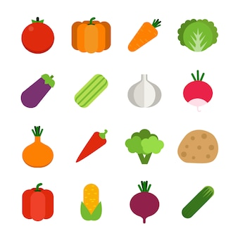 Vegetais saudáveis.