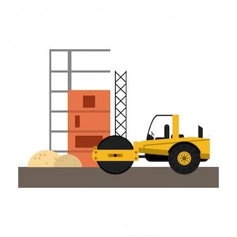 Veículo compacto de construção
