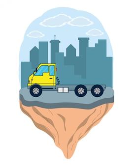 Veículo de caminhão de carga