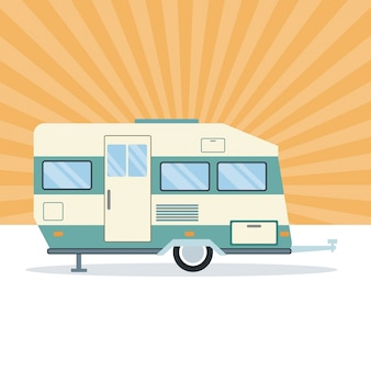 Veículo reboque caravana