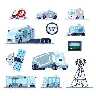 Veículos autônomos sistema de cruzeiro conjunto plano