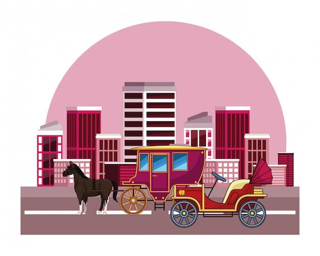 Veículos clássicos e carruagens